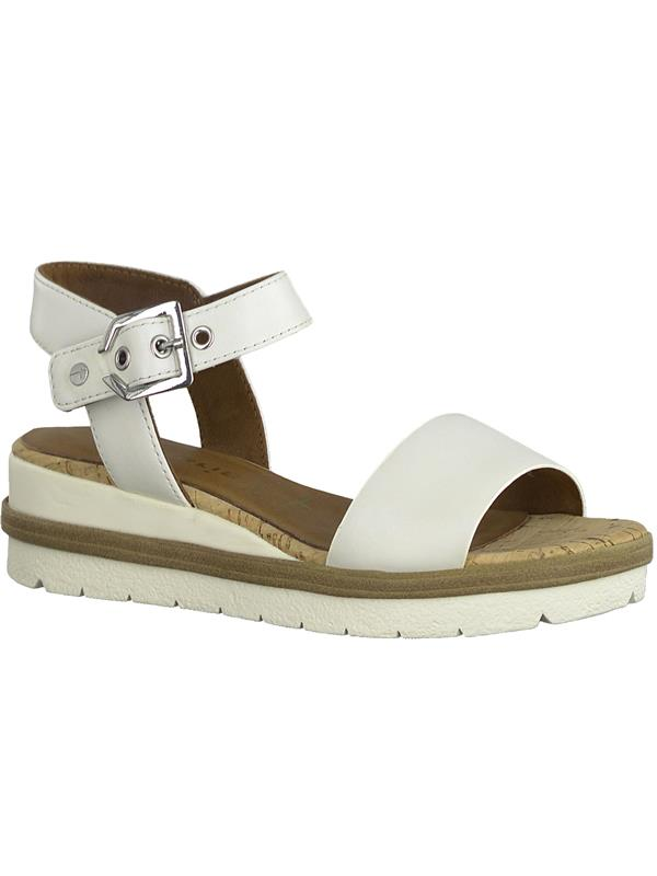 Buy Online Tamaris 28328 – 1860 White PettitsEst From Sandals 22 76gvmfIYby
