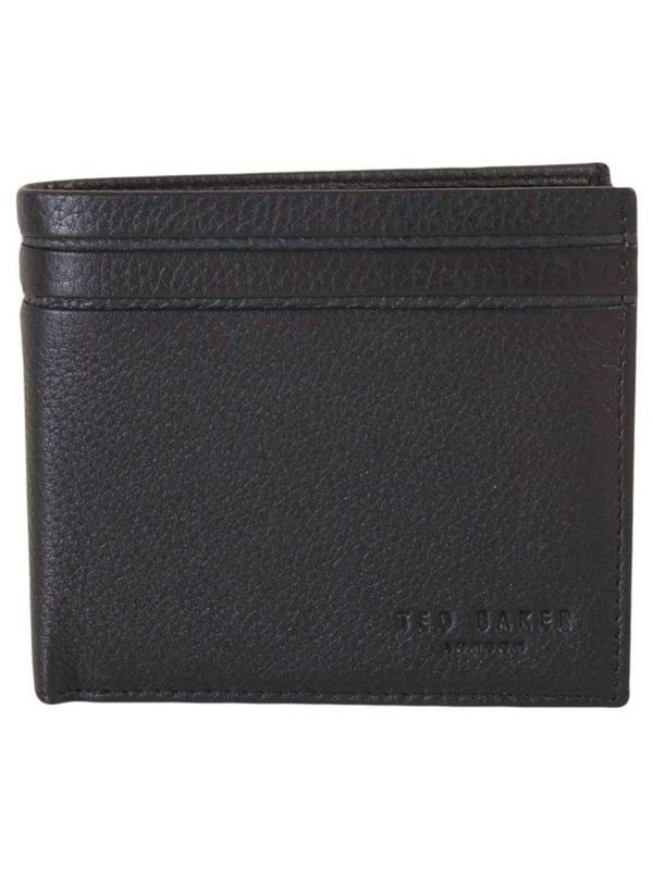 c8109aba5 Ted Baker Wallet - Mack Striped Bifold Black