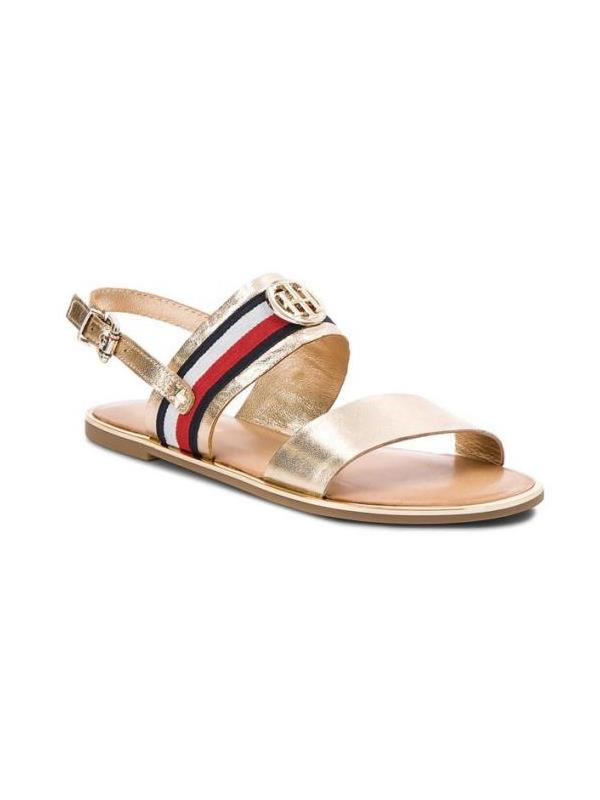 f3351c8b75 Tommy Hilfiger Sandals - Corporate Ribbon Flat Sandal - Buy Online fro