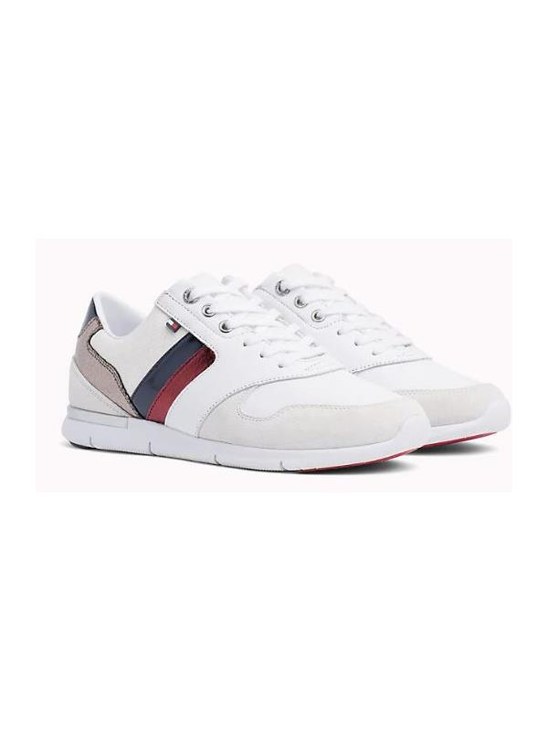 f0f5c5749388 Tommy Hilfiger Sneakers - Leather Light Sneakers- Buy Online from Pett