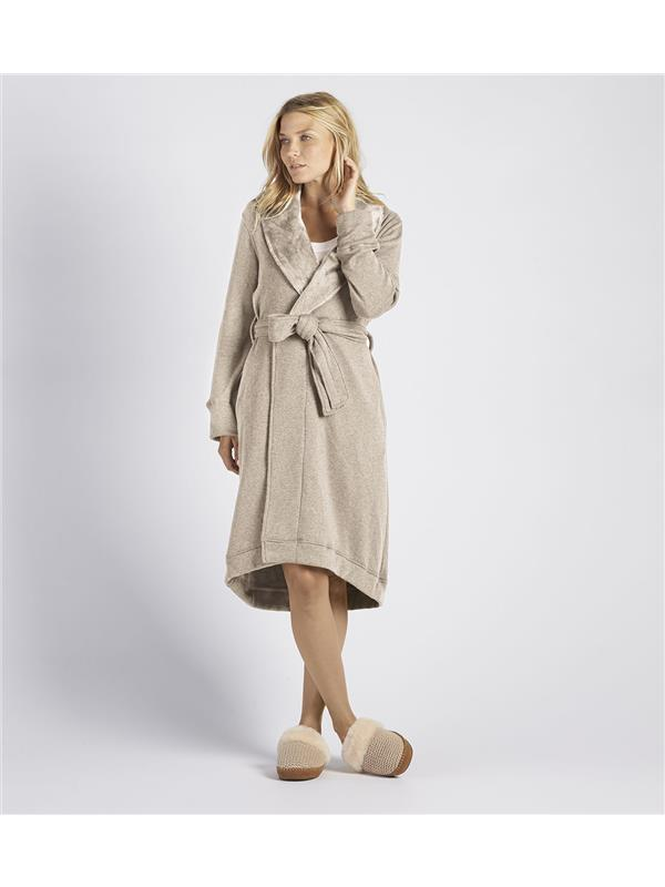 757a2f3df4 Ugg Dressing Gown - Duffield Oatmeal