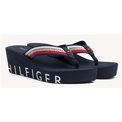 a5c269aed8aa Tommy Hilfiger Iconic Beach Wedge Sandal - Buy Online from Pettits, Es