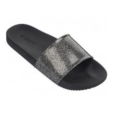 c76f1d0a03c9 Zaxy Sandals Snap Glitter Slide Black - Buy Online from Pettits Estd 1