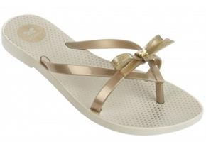 Zaxy Sandals - Fresh Bow Gold