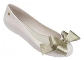 Melissa Shoes - Space Love Ribbon Bow Nude