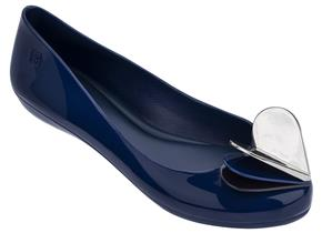 Zaxy Shoes - Pop Heart Flutter Navy