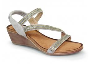 Lunar Sandals - Sofia JLH073 Grey