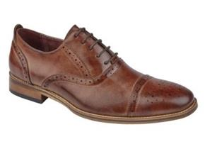 Pettits Shoes - Goor M516 Mid Brown