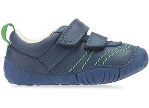 Start-rite Shoes - Baby Leo F Blue