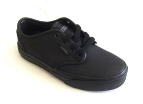 Vans Shoes - Atwood Black Leather