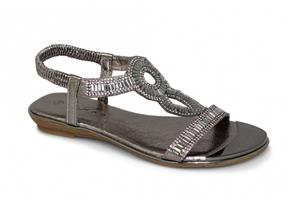 Lunar Sandals - Samantha JLH882 Pewter