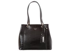Guess Bags - Kamryn Shopper Black Croc