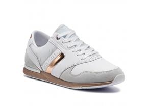 Tommy Hilfiger Sneakers - Iridescent Light Sneaker White Rose Gold