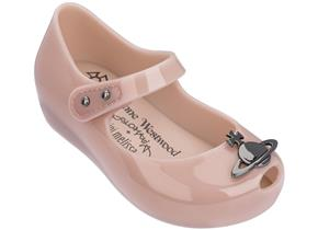 Vivienne Westwood + Melissa Shoes - Mini VW Ultragirl Blush