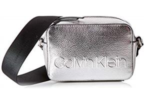 Calvin Klein Bags - Edged Camera Bag Silver
