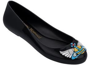Vivienne Westwood + Melissa Shoes - Space Love 22 Black Wing Orb