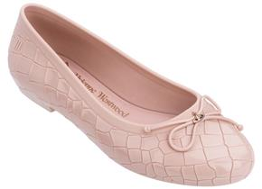 Vivienne Westwood + Melissa Shoes - VW Margot Ballerina Blush