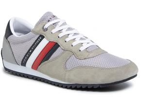 Tommy Hilfiger Shoes - Essential Mesh Runner Silver