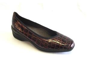 Ara Shoes - 61150 Burgundy Croc