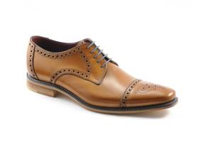 Loake Shoes - Foley Tan