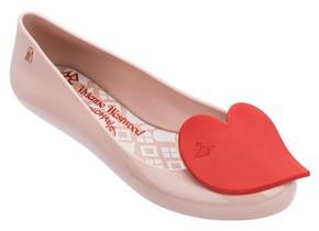 Vivienne Westwood + Melissa Shoes - VW Space Love 23 Heart Blush