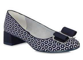 Ruby Shoo - June Navy/White