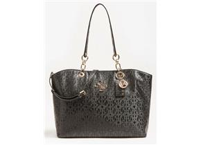 Guess Bags - Chic Shine Tote Black
