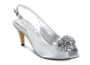 Lunar Shoes - Sabrina FLR081 Silver