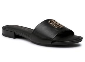 Tommy Hilfiger Shoes - TH Hardware Flat Mule Black