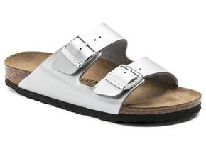 Birkenstock Sandals - Arizona Silver