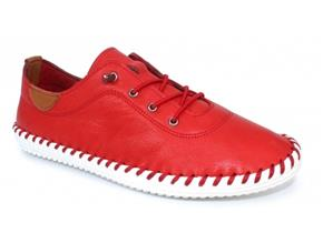 Lunar Shoes - St Ives FLE030 Red