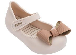 Zaxy Shoes - Baby Classic Bow Ivory