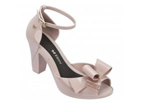 Zaxy Shoes - Diva Bow Nude