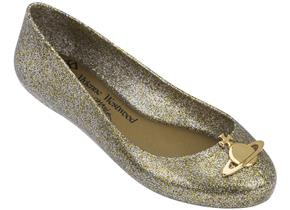 Vivienne Westwood + Melissa Shoes - Space Love 21 Gold