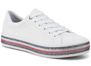 Tommy Hilfiger Shoes - Jewelled Sneaker White