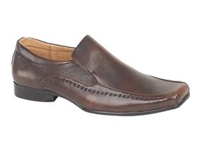 Pettits Shoes - Goor M154 Brown
