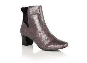 Lotus Boots - Swallow Grey Snake