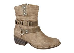 Cats Eyes Boots - L354 Brown