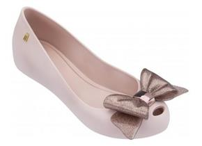 Melissa Shoes - Ultra Girl Sweet Bow Blush