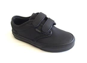 Vans Shoes - Atwood Velcro Triple Black