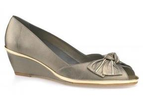 Van Dal Shoes - Florida Pewter White