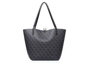 Guess Bags - Alby Toggle Tote Black