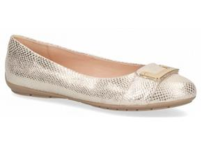 Caprice Shoes - 22110-26 Light Gold Reptile