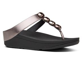 FitFlop™ Sandals - Rola™ Pewter