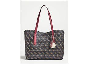 Guess Bags - Aline Tote Brown Multi