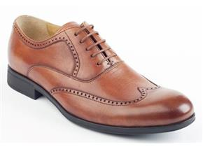 Steptronic Shoes - Bugatti Cognac