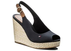 Tommy Hilfiger Shoes - Iconic Elena Slingback Navy