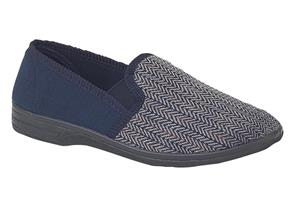 Sleepers Slippers - MS219 Charles Navy