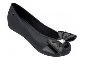 Melissa Shoes - Ultra Girl Sweet Bow Black