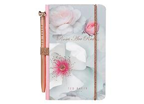 Ted Baker Notebook and Pen - 945 Chelsea Border